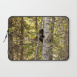 Baby Bear Photography Print Laptop Sleeve