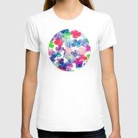 garden T-shirts featuring Garden by DuckyB