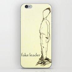 Fake leader iPhone & iPod Skin