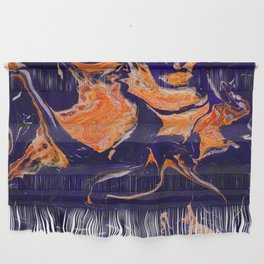 Abstract paint Art Wall Hanging