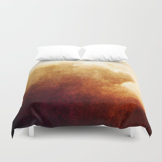 In the calm of dreams Duvet Cover