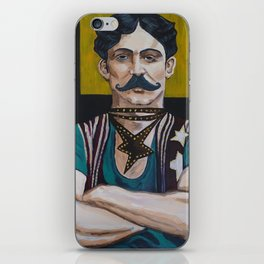 The Strong Man iPhone Skin
