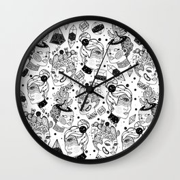 Las Chulas Wall Clock