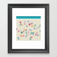 Summer High Framed Art Print