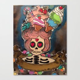candy chick  Canvas Print