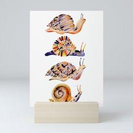 Snail Collection Mini Art Print