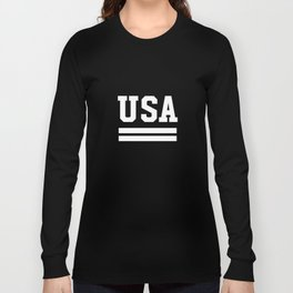 USA Proud American Patriot 4th Of JulyIndependence Day Long Sleeve T-shirt