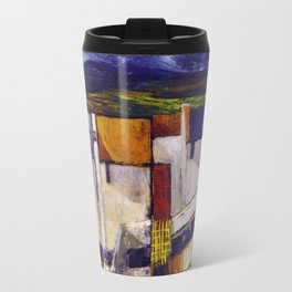 Irish Farmhouse (acrylic on canvass) Travel Mug