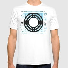LAGRANGIAN POINT II Mens Fitted Tee MEDIUM White