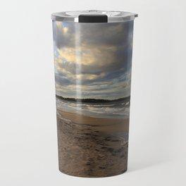 Dark Skies And Sea -Nova Scotia Canada Travel Mug