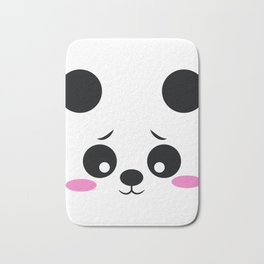 Panda Funny Pregnancy Announcement Bath Mat