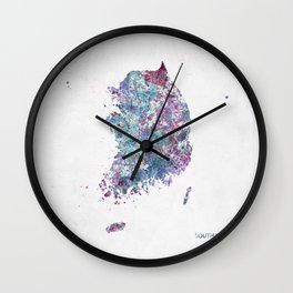 South Korea Wall Clock