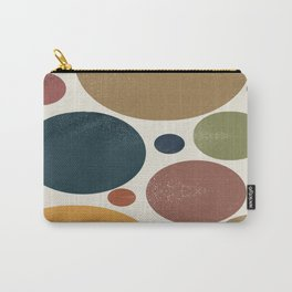 Retro Soft Polka Dots Carry-All Pouch