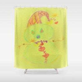 A joke in winter Shower Curtain