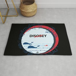 DIS Obey Whale Rug