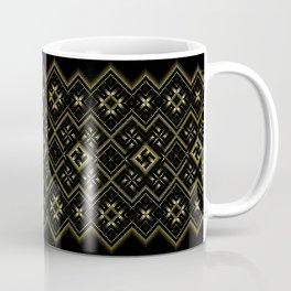 Solar signs. Ancient ornament. Sacred geometry Coffee Mug