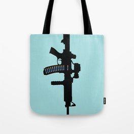 Art not War - Blue Tote Bag