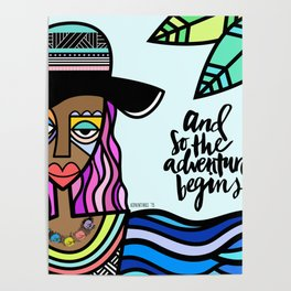 Adventurous Summer Poster