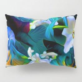 Languid Blue Comfort Pillow Sham