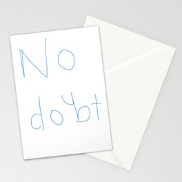 No Doubt Stationery Cards