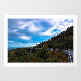 Blue Ridge Parkway Viaduct Art Print