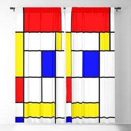 Mondrian #62 Blackout Curtain