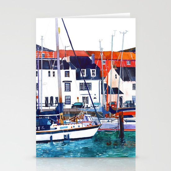 Weymouth Port Stationery Cards