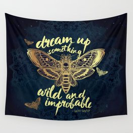 Wild and Improbable Wall Tapestry
