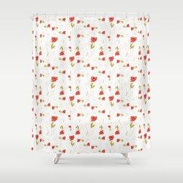 Poppy Gilded Hands Series Light Shower Curtain