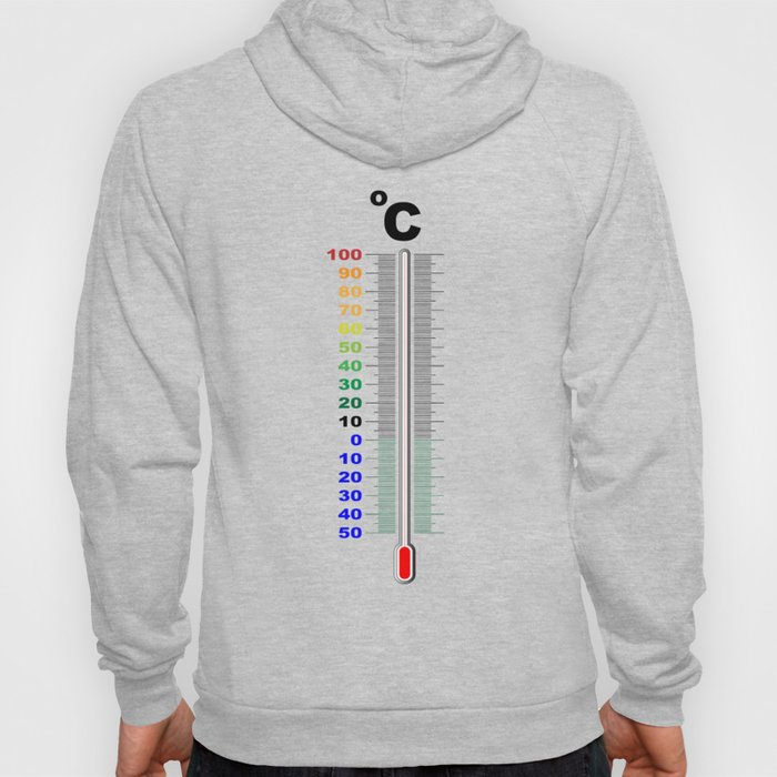A Centigrade Thermometer Hoody