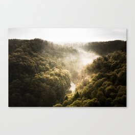 Down Below Canvas Print