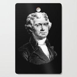 President Thomas Jefferson Cutting Board
