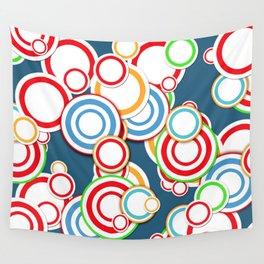 Pattern circle top Wall Tapestry