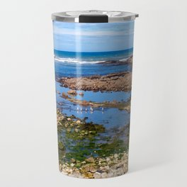Sat On a Shoreline Travel Mug