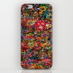 Planetary Funk iPhone & iPod Skin