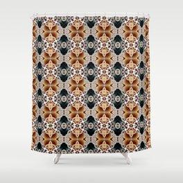 Basket Case Shower Curtain