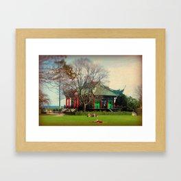 Pagoda Framed Art Print