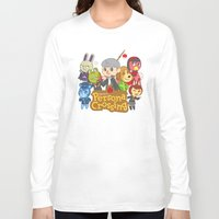 persona Long Sleeve T-shirts featuring Persona Crossing by Cassie S