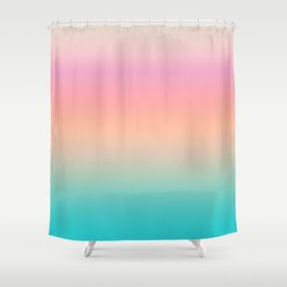 Simply Gradient Shower Curtain