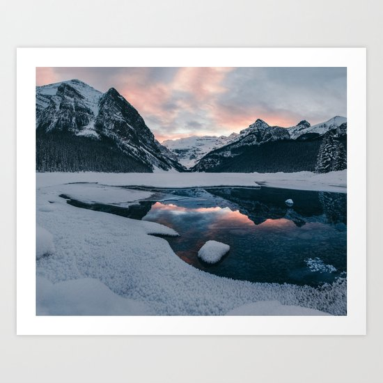 The Great White North Art Print