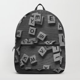 Letters Backpack