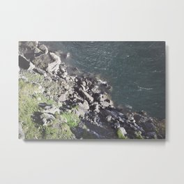 Rocky Riverbed Metal Print