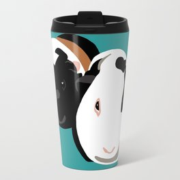 Delores and Popcorn Travel Mug