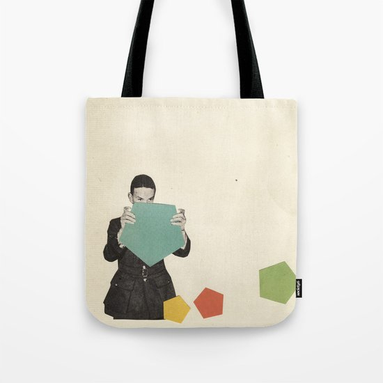Discovering New Shapes Tote Bag