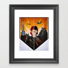 The Shepard & The Hawke Framed Art Print