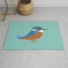 Common king fisher Rug