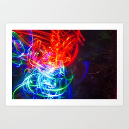 RGB 2 Art Print