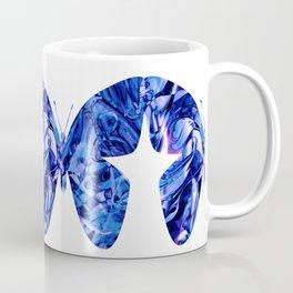 Fluid Butterfly (Blue Version) Coffee Mug
