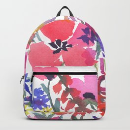 Little Pink Poppies Backpack