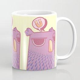 """""""U"""" Coffee Mug"""
